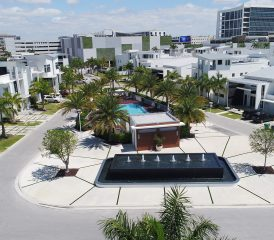 Oasis Park Square Doral Miami Florida City Place